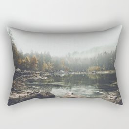 Serenity - Landscape Photography Rectangular Pillow