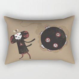 Katamari of the Dead Rectangular Pillow