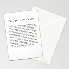 The Legend Of The Dogwood 8 Stationery Cards