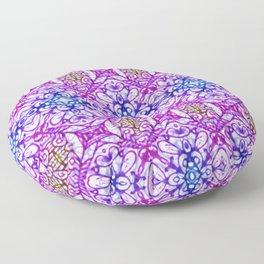 Mehndi Ethnic Style G376 Floor Pillow