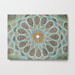 Islamic Mosaic Tile 1 Metal Print