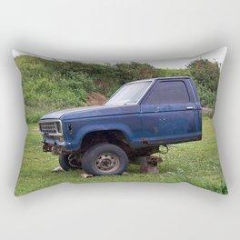 Half a Truck Rectangular Pillow