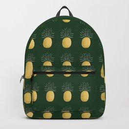Simple Pineapple (medium/dark-green) Backpack