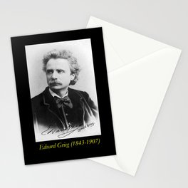 Elliot and Fry - Portrait of Grieg Stationery Cards