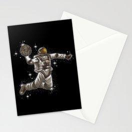 Basketball Astronaut | Sport Galaxy Team Universe Stationery Cards