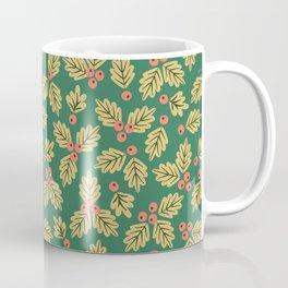 Christmas Holly Berries Coffee Mug