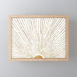 Let The Sunshine In Framed Mini Art Print
