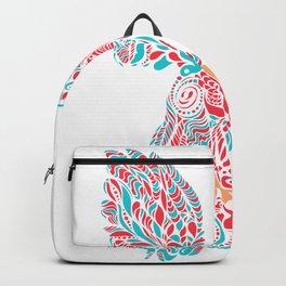Gallito de las rocas tricolor by #Bizzartino Backpack