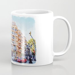 La Pedrera Barcelona Coffee Mug