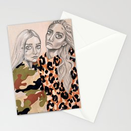 Sister,sister Stationery Cards