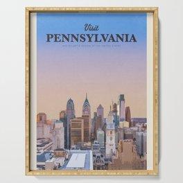 Visit Pennsylvania Serving Tray