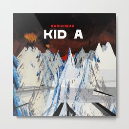 Kid A Metal Print