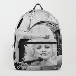 Dolly Parton music star pop music Silk poster Backpack