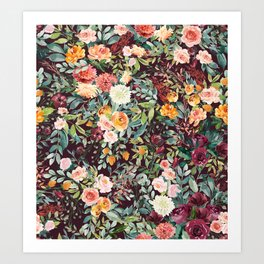 Fall Floral Kunstdrucke