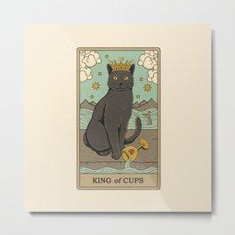 King of Cups Metal Print