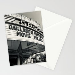 Theater in Black and White Stationery Cards