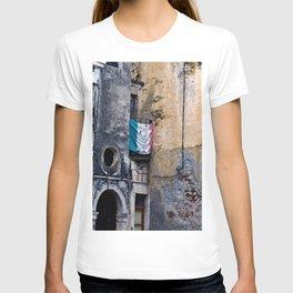 Medieval Sicilian Facade of Forza d'Agro T-shirt