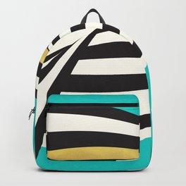 THINK! – Wavy Stripes on Luxury Blue Backpack