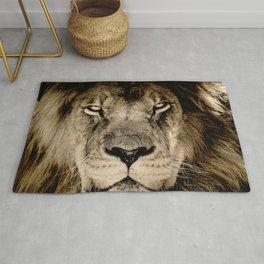 Face of Lion Rug
