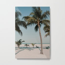 Fort Myers Beach Florida | Fine Art Travel Photography Metal Print