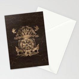 Vegvisir - Viking Compass Ornament Stationery Cards