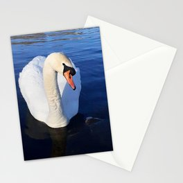 Sweet Swan Glance Stationery Cards