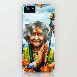 Human Monk of the Way of Tranquility, Jimi iPhone Case