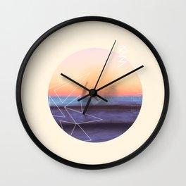 Surfer's Remorse Wall Clock
