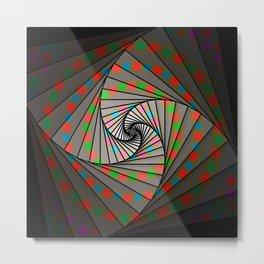 Fibonacci Spin, 2140d Metal Print