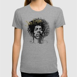 Jimi Hendrix / ink T-shirt