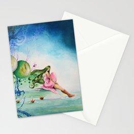 La nit de les dues llunes Stationery Cards