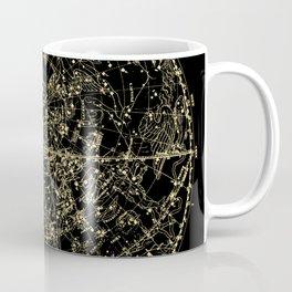Astro Astronomy Constellations Astrologer Vintage Map Coffee Mug