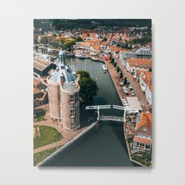 Enkhuizen, North Holland, The Netherlands Metal Print