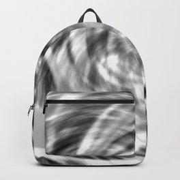 Spiral Monotone Tie Dye Backpack