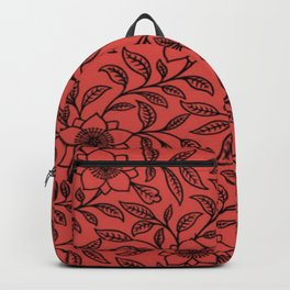 Grenadine Lace Floral Backpack