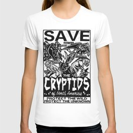 SAVE THE CRYPTIDS T-shirt