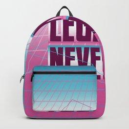 Legends Never Die Vaporwave Backpack