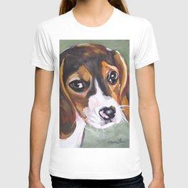 Beagle Pet Art T-shirt