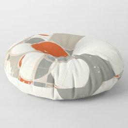 Moderne Interierur Floor Pillow