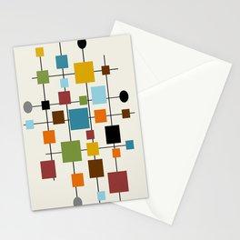 Mid-Century Modern Art 1.3 Stationery Cards