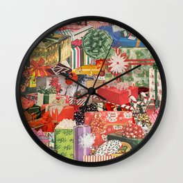 The Gift That Keeps on Giving Wall Clock