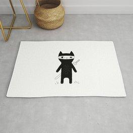 Ninja Cat Rug