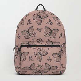 Blocked Butterfly Backpack