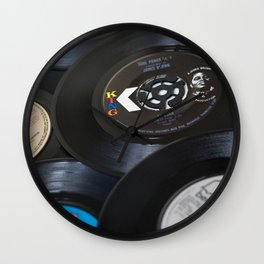 Sounds of the 70s III Wall Clock