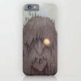 """Forest Troll - Skogtroll"" by Theodor Kittelsen iPhone Case"