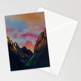 Through the Valley Stationery Cards