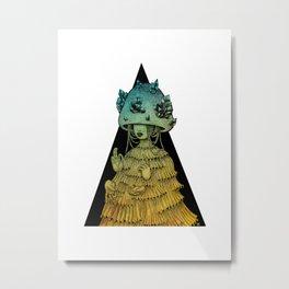 KINOKO TROPICA I Metal Print