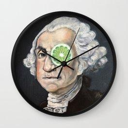 Limeade George Washington Wall Clock
