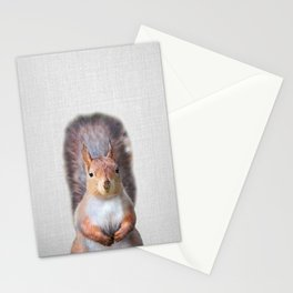 Squirrel - Colorful Stationery Cards