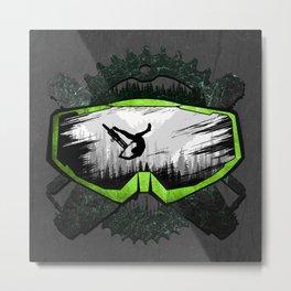 Mask MTB Logo Metal Print